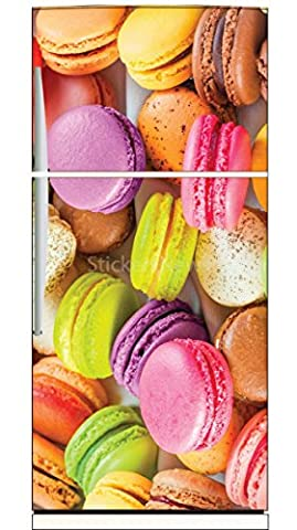 Stickers Macarons - Stickersnews - Stickers frigo déco cuisine Macarons