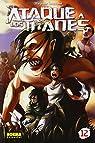 Ataque a los Titanes 12 par Hajime Isayama
