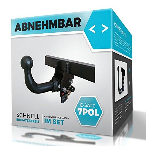 CITROEN C4 PICASSO 2006-2013 Anhängerkupplung Abnehmbar Mit N7 E-satz 7 Pol Check-Control PDC Abschaltung