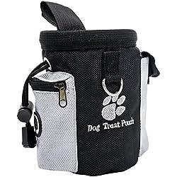 Haustiere Snack-Tasche,Belohnungstraining Tasche,Haustiere Tasche,Ausbildung Tasche,Müllsack Verstellbare Tasche Taille Clip Design Tasche