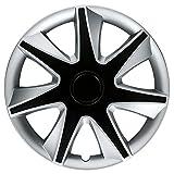 CM DESIGN RACE 4 Silber/Schwarz - 15 Zoll, passend für fast alle Mercedes Benz z.B. für SL R231 original Schnittmuster
