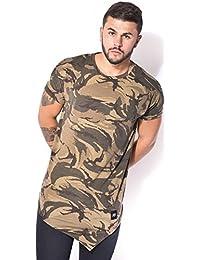 T-shirt Sixth June camo oversize et asymétrique