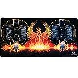 Wickelmatte für Selbstwickler Coils Matte Mat Pad Unterlage, Größe: 800x400x2,5mm, Gamer Mauspad Vape Phoenix