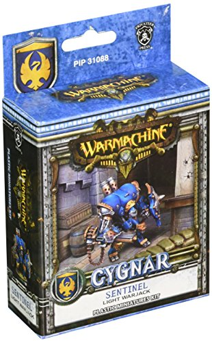Unbekannt Privateer Press-Cygnar-Sentinel Light Warjack (Kunststoff) Model Kit (Miniaturen Reaper Malen)