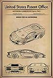 ComCard | Targa in lamiera con il brevetto statunitense per la progettazione di...