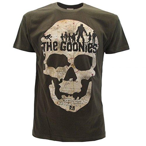 The Goonies Skull 80s Movie T-Shirt, mens