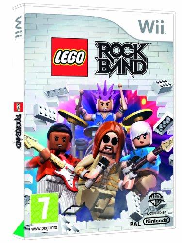 Lego Rock Band - Game Only (Wii) [Importación inglesa]