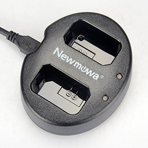 Newmowa Ultradünnes USB Ladegerät für Sony NP-FW50 und Alpha a3000, Alpha a5000, Alpha a6000, A6300,Alpha 7, a7, Alpha 7R, a7R, Alpha 7S, a7S, NEX-3, NEX-3N, NEX-5, NEX-5N, NEX-5R, NEX-5T, NEX-6, NEX-7, NEX-C3, NEX-F3, SLT-A33, SLT-A35, SLT-A37, SLT-A55V, Cyber-shot DSC-RX10