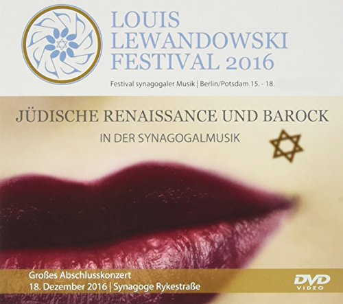 Louis Lewandowski Festival 2016, 1 DVD