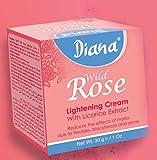 Diana Wild Rose Skin Lightening Crema 30g, da Elysee Star–Riduce Macchie, Lentiggini, punti neri e acne