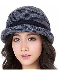 Coréen Élégant Occasionnels Automne Hiver Sertissage Chapeaux Réglables Chapeau Filles (3 Couleurs Facultatives)