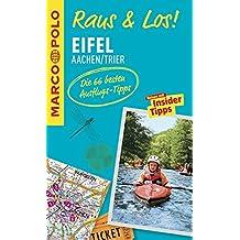 MARCO POLO Raus & Los! Eifel, Aachen, Trier: Guide und große Erlebnis-Karte in praktischer Schutzhülle