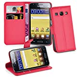 Cadorabo Hülle für Samsung Galaxy CORE Plus in Karmin Rot