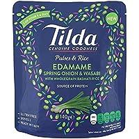 Tilda Impulse & Reis Edamame, Frühlingszwiebeln & Wasabi 140G - Packung mit 2