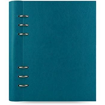 Filofax 023612 Clipbook Carnet de note A5 Bleu Pétrole