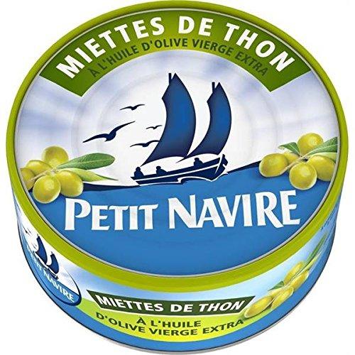 Petit Navire miettes de thon à l'huile d'olive 160g - ( Prix Unitaire ) - Envoi Rapide Et Soignée