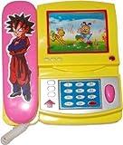 #8: Samdivi Musical Phone with Cartoon moving screen - Multi Color