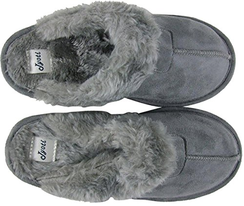 Jyoti, Pantofole donna Grigio
