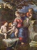 Lais Puzzle Raffaello - Sacra Famiglia sotto la Quercia, con Giovanni Il Battista 1000 Pezzi