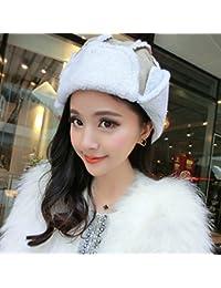 MHGAO Bizzarro Ushanka Inverno Caldo Ispessimento Antivento Cappello  Esterno per Le Signore 0337711d1ded
