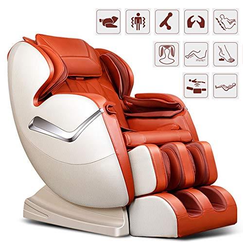 Elektischer Massagesessel Für Ihr Wohlbefinden, Relaxsessel Mit Wärmefunktion Und Bluetooth, Automatikprogramme Knetmassage Klopfmassage Rollenmassage Airbagmassage