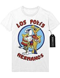 T-Shirt Pokemon Go Los Pokes Hermanos Mashup Breaking Bad Team Rocket Jessie James Mauzi Kanto 1996 Blue Version Pokeball Catch 'Em All Hype X Y Nintendo Blue Red Yellow Plus Hype Nerd Game C210005
