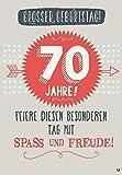 Musikkarten mit Sound Überraschung 012a zum 70. Geburtstag