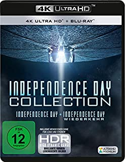 Independence Day 1+2 (2 4K Ultra-HD) (+ 2 Blu-ray 2D)