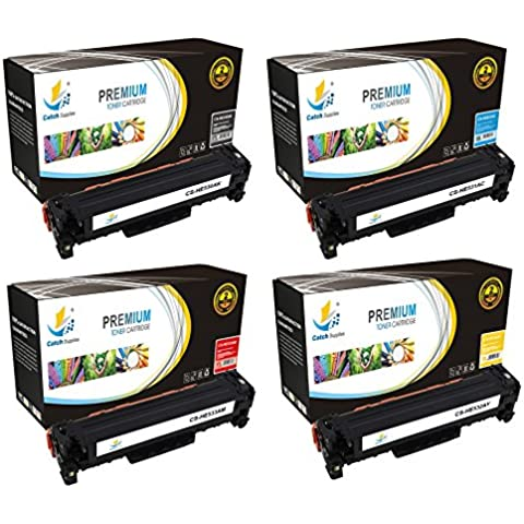 Catch forniture di ricambio cartuccia toner Set matto HP 304 A