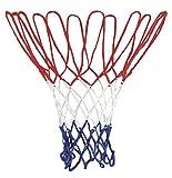 We-Ball Basketballnetz Für Korb 53 cm lang für Metallringe mit Ø 45,7 cm (1 x Netz)