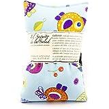 Saco Térmico de Semillas aroma Lavanda, Azahar o Romero tejido de Pajaritos (Lavanda, 50 cm)