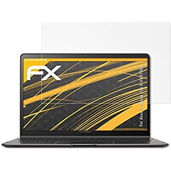 2X anti-reflective and shock-absorbing FX Protector Film atFoliX Screen Protector for Asus ZenBook Pro 14 UX480FD Screen Protection Film