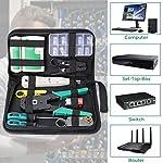 SGILE-Strumenti-Kit-di-Rete-Professionali-Pinza-Crimpatrice-rj45-Manutenzione-del-Computer-Kit-LAN-Tester-del-Cavo-12-in-1-Strumenti-di-Riparazione