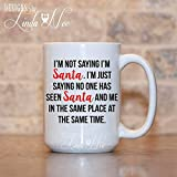 XIEXING Strong Stability Durable Christmas taza de café, Funny Christmas Coffee taza de café, Funny Christmas Tea taza de café, Christmas Gift taza de café, Santa Coffee taza de café, Funny Holiday t