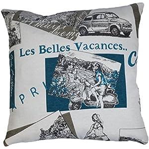 Kissenhülle Kissen Zierkissen von Beletage 40 X 40 cm, Capri Gobelin Baumwolle Cushion