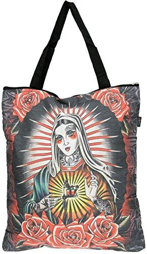 liquor-brand-faith-sacred-heart-maria-shopping-bag-funda-rockabilly-schwarz-mit-buntem-motiv-ancho-4