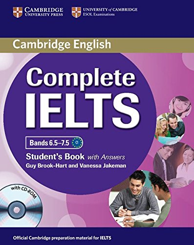 Complete IELTS Bands 6.5–7.5 Student's Book with Answers with CD-ROM