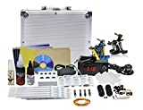 Basic Permanent body tattoo making machine kit for beginners & Students