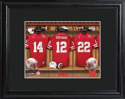 college-with-wood-frame-nebraska-cornhuskers-football-locker-room-print