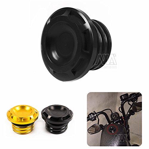 Für Harley Sportster XL 88312002004–2012CNC Motorrad Fuel Tank Gas Gap Öl CAP Abdeckung (Fuel Gas Cap)