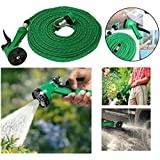Indusk 4-in-1 Pressure Washing Multi Functional Water Spray With Hose Pipe -10M Long, Garden & Car Wash