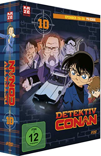 Detektiv Conan - TV-Serie - DVD Box 10 (Episoden 255-280)