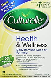 Culturelle, Health & Wellness, Immunity Support Formula Probiotic, 30 Once Daily Capsules