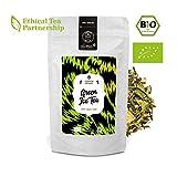 alveus® Green Ice Tea BIO ORGANIC: Eistee aus grünem Tee, Lemongras, Ingwer, Apfelecken, Apfel, blauen Kornblumen, lose Teemischung mit 100g Tüte