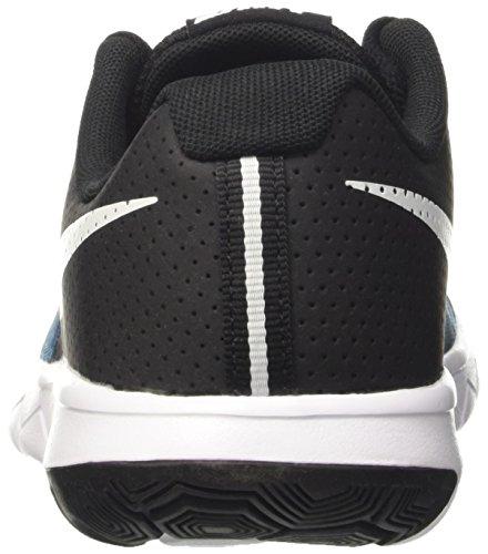 Nike Unisex-Kinder Flex Experience 5 Print Gs Laufschuhe Schwarz (Black/White)