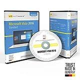 Microsoft Visio 2016 Standard DVD mit original Lizenz. Papiere & Lizenzunterlagen von S2-Software GmbH & Co. KG