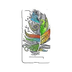 ROCKY Designer Printed Back Case / Back Cover for Xiaomi Mi4i (Multicolour)