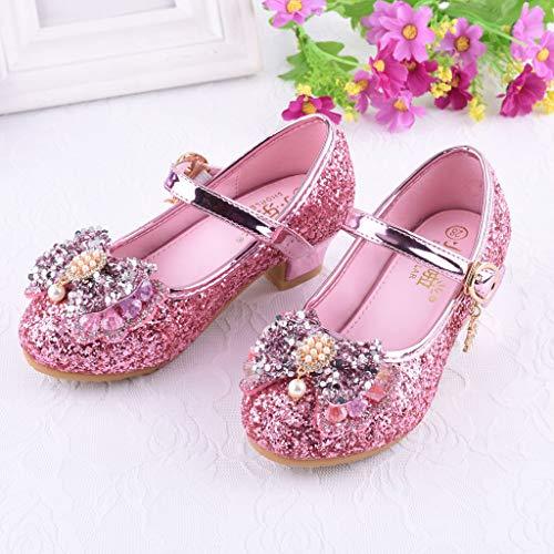 a6d7ea57 Mitlfuny Zapatos de Baile de Tango Latino para Niños Bailarina ...