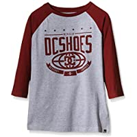 DC Shoes The Creed Rag B B Tees RZD0 - Camiseta para niño, color rojo, talla 12/M