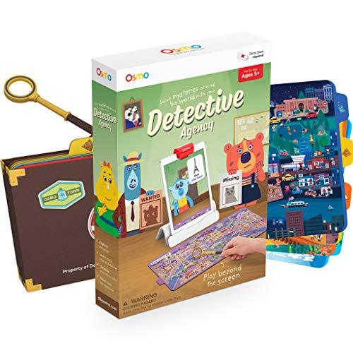 OSMO 902-00011 Detective Agency Game Rätsel auf der Spur Spiel-Alter: 5-12-Entdecke die Welt-für iPad und Fire Tablet Basis Wird benötigt